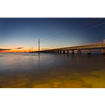 Seven-mile Bridge At Twilight